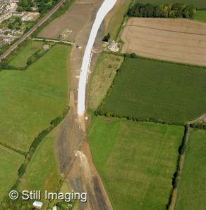 Chalk stabilisation near Chapel Lane (large version)